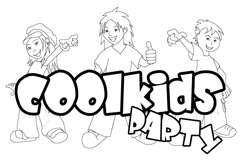 coolkids logo kleurplaat fw coolkids